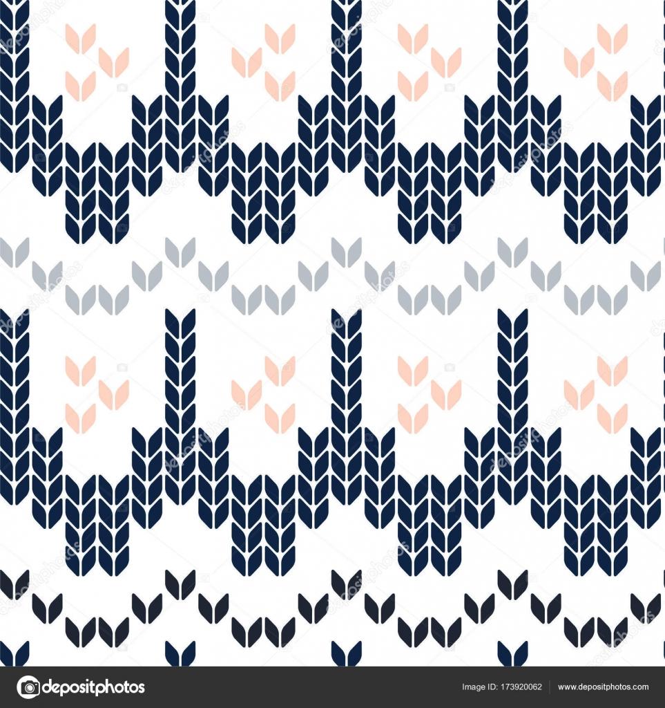 Diseño de plantilla de suéter de Navidad. Patrón sin fisuras de ...