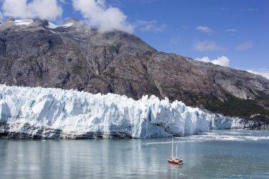 Ship by The Glacier