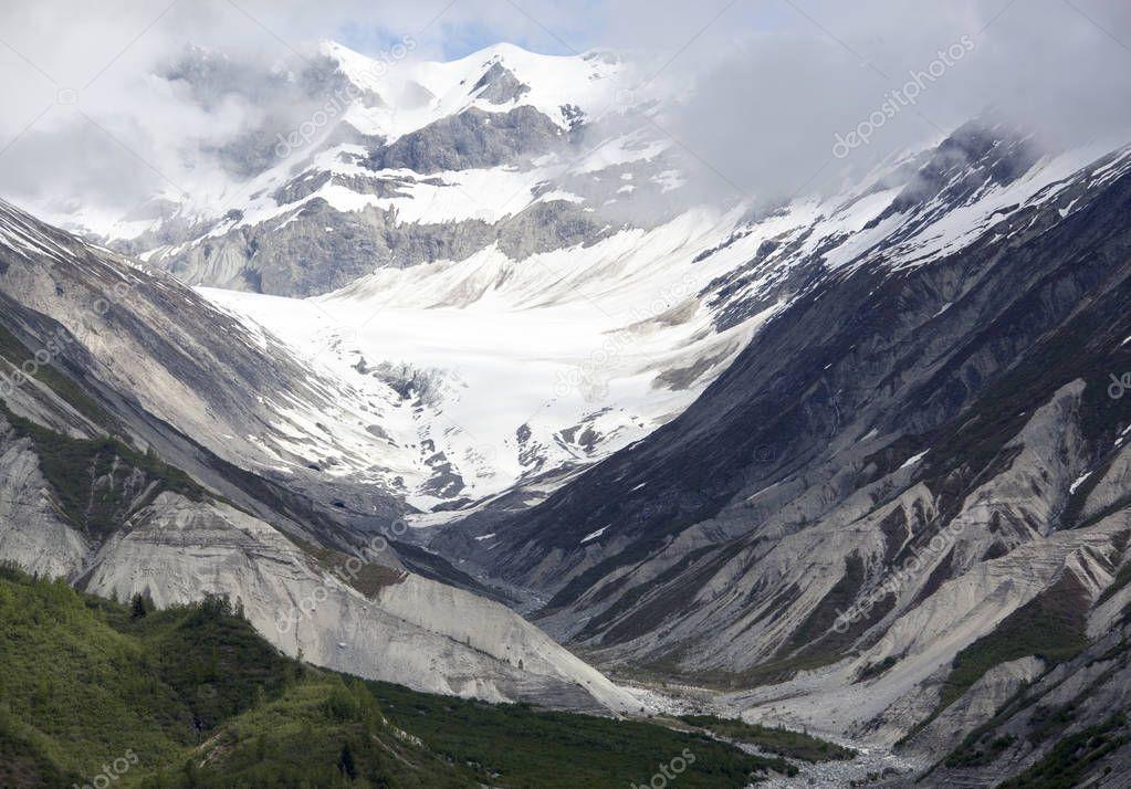 Glacier Bay Mountains