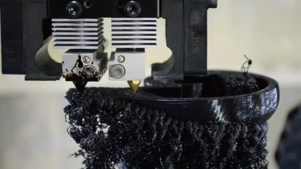 Fekete részleteinek nyomtatása a 3D-s nyomtató-közelről