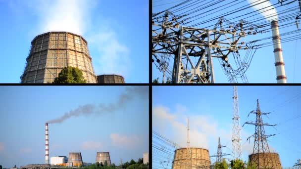 Velký kanál cigáro a podporu pro elektrické vedení v produkci