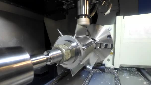 Milling machine from the inside