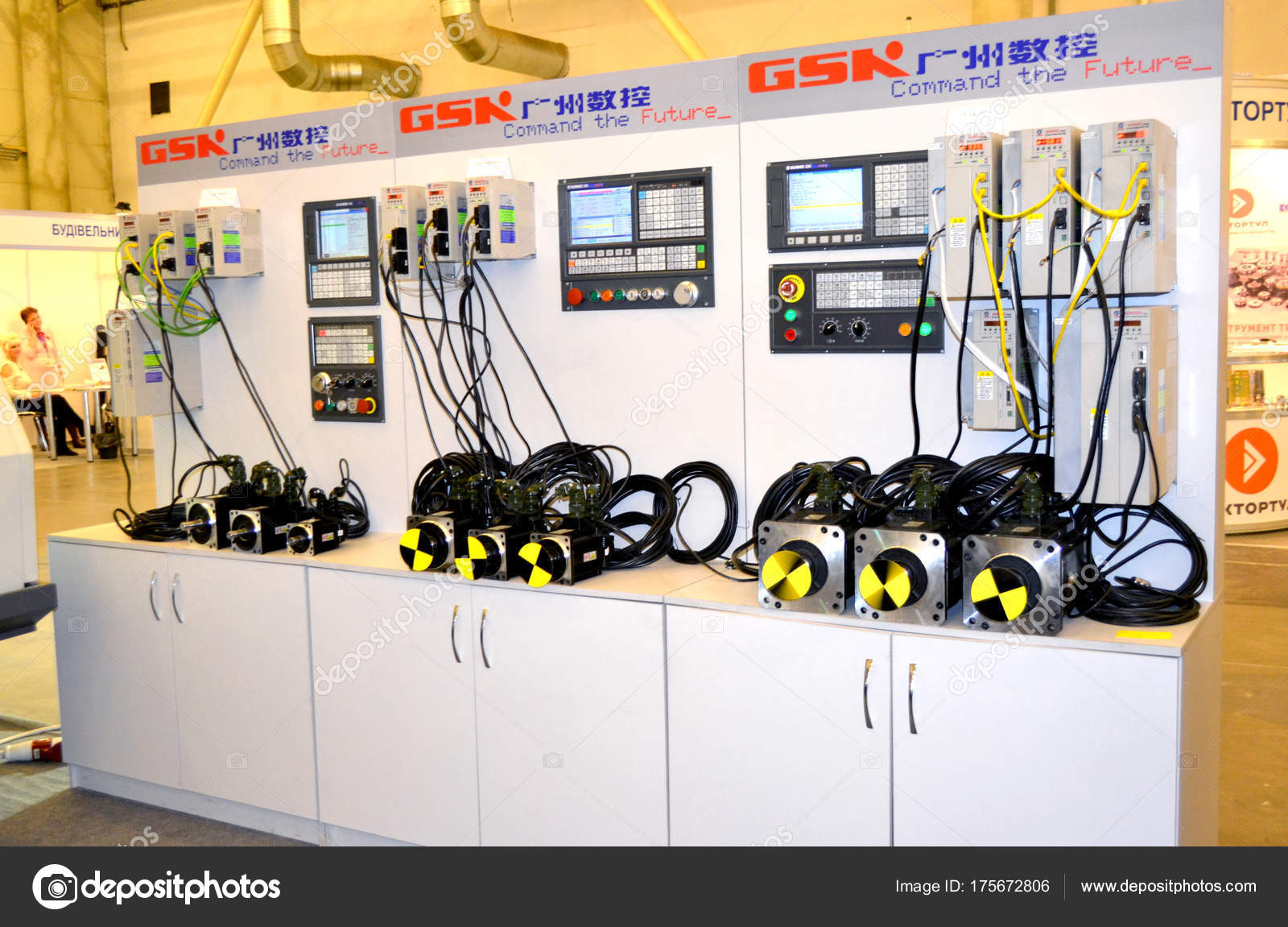 Industrial Machinery Production Aggregation Stock Editorial Photo Wiring