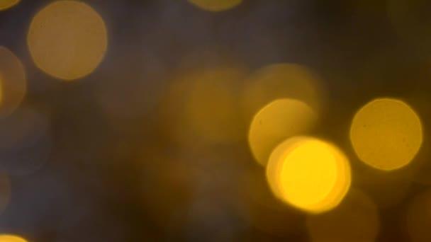 Žluté pozadí bokeh