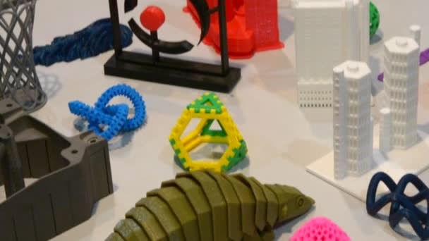 plastic objects printing on 3d printer