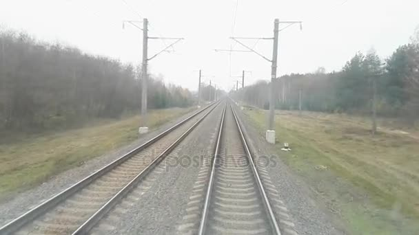 locomotive cabine motion view