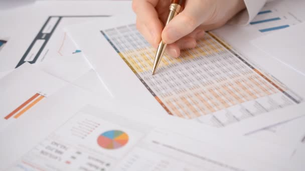 important accounting data check report golden pen accountant close-up