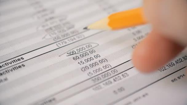 Účetní kontroluje finanční výkaz