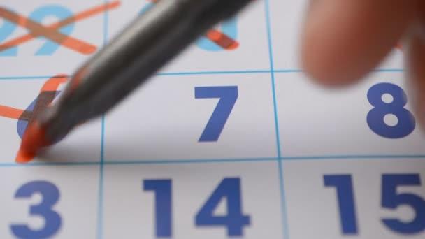 kalendář stránky oranizer