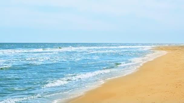 Mořská vlna. Vlna moře.