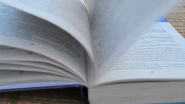 Big open book. Shooting on the beach.