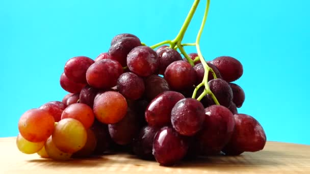 Grapes. Shooting in the movement. Shooting in the movement. Shooting in kitchen.