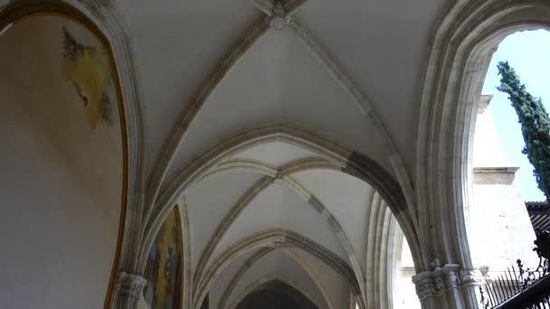 TOLEDO, SPAIN - MARCH 30, 2018: Interior of the Primate Cathedral of Saint Mary. The Primate Cathedral of Saint Mary of Toledo