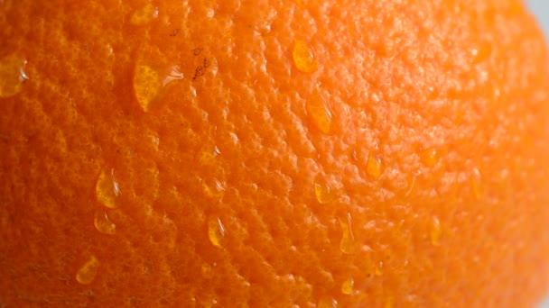 Juicy and ripe orange.