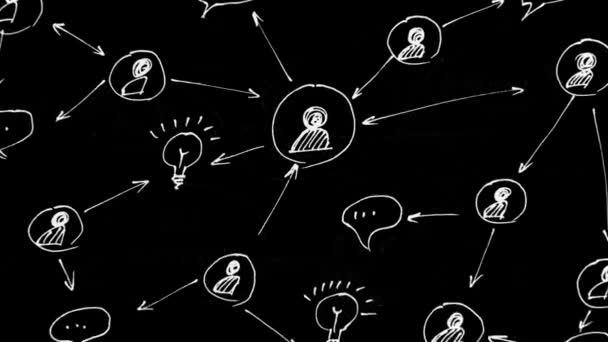Animation. Globale Kommunikation. Soziale Netzwerke. Soziale Netzwerke und globale Kommunikation.