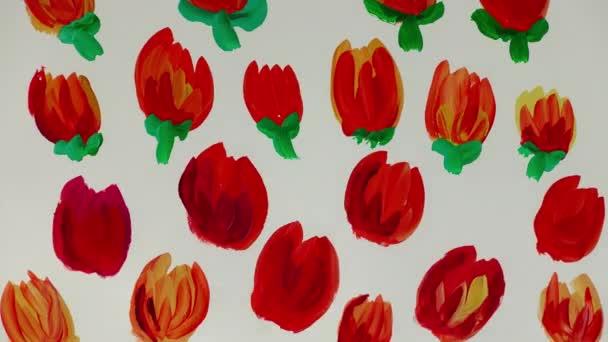 Rajzolj virágot. Időeltolódás.