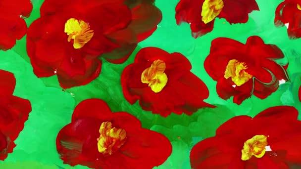 Rajzolj virágot a mezőre. Időeltolódás.