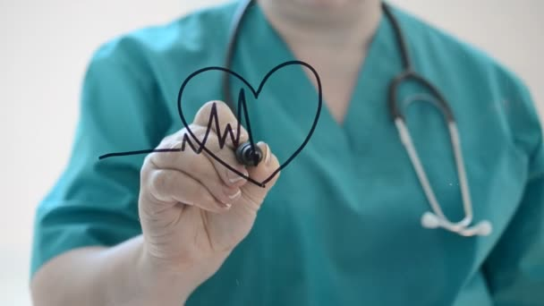 Heart diseases. We draw a marker.