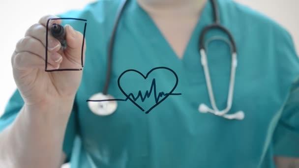 Srdeční choroby. Nakreslíme si značku.