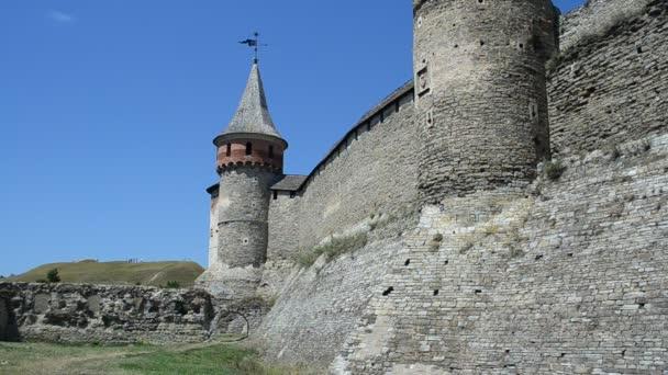 Ukrán erőd, ősi. Kamenetz-Podolszk erőd, Ukrajna.