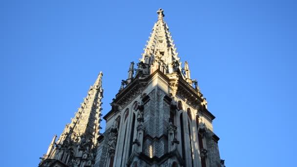 Kathedrale St. Nikolaus in Kiew, Ukraine. Erschießung des Tempels