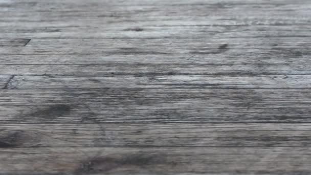 Timber floor. Floor from boards