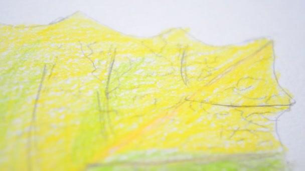 Žluté listy. Podzimní listy