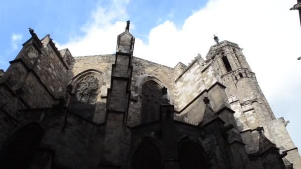 Barcelona, Gothic Quarter. Shooting in Spain.