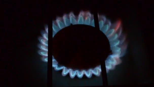 Gázégés. Gáztűzhely-égő