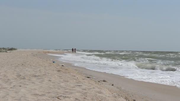 Meer und Meereswelle.