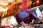 Lebkuchenherzen, Weihnachtsmarkt