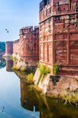Agra Fort, Uttar Pradesh, India.