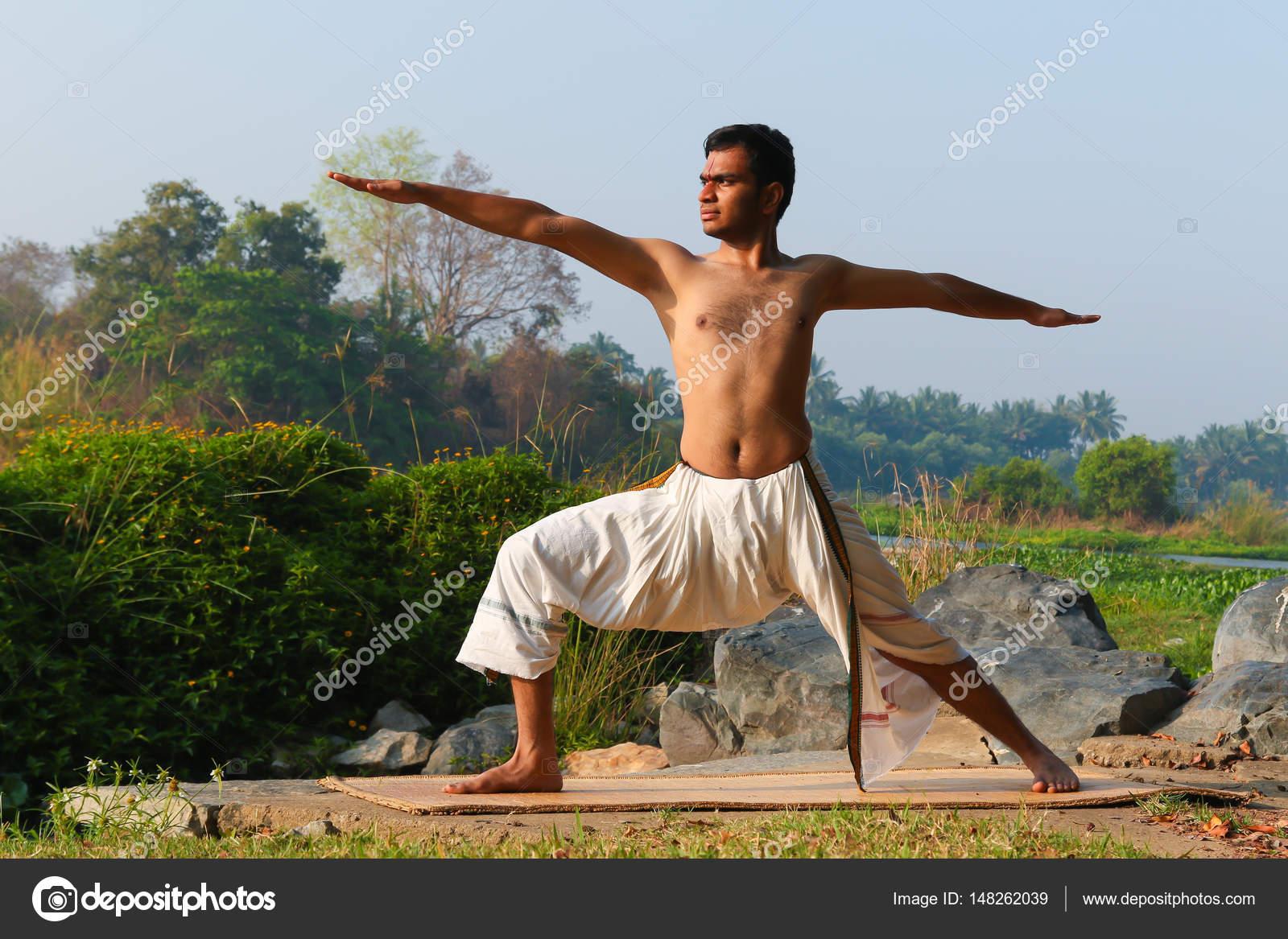 Indian Yogi Doing Yoga Stock Photo C Nilanewsom 148262039