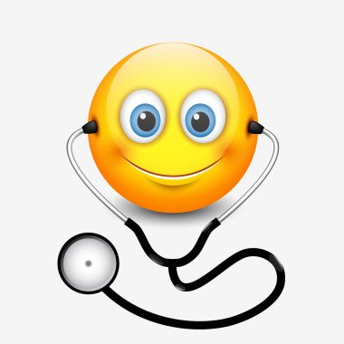 smiley doctor icon