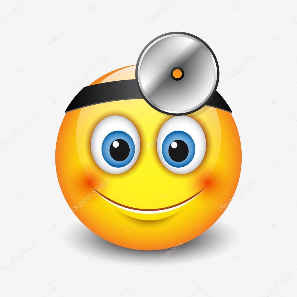 icona di smiley medico — Vettoriali Stock © I.Petrovic
