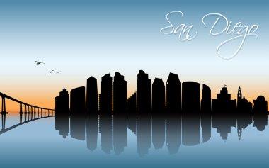 san diego cityscape banner