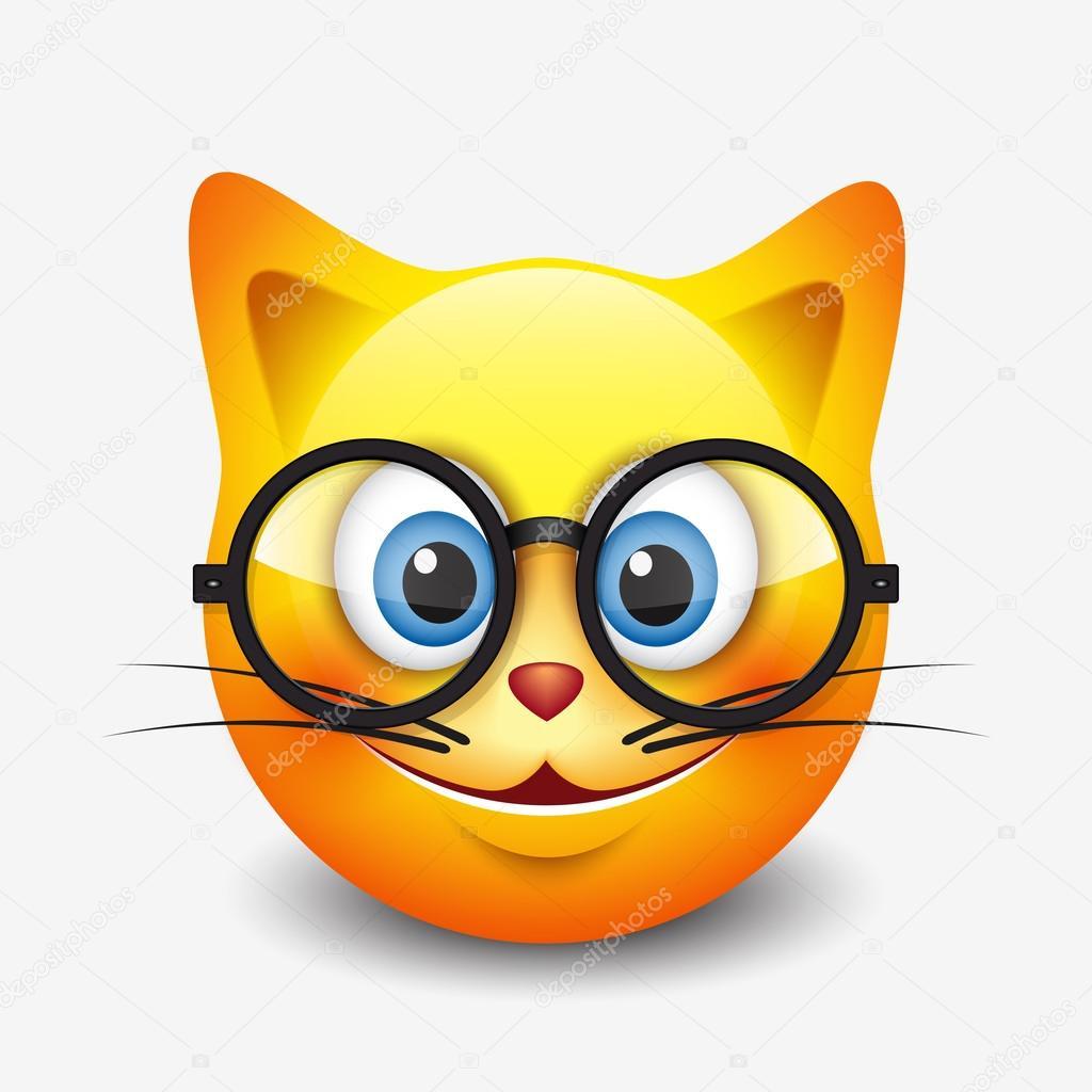 Cat Eye Emoticon