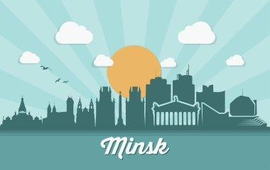 minsk cityscape banner