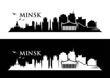 minsk cityscape banners