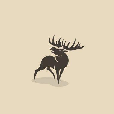 roaring brown Moose