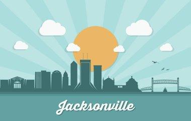 Jacksonville skyline, Florida