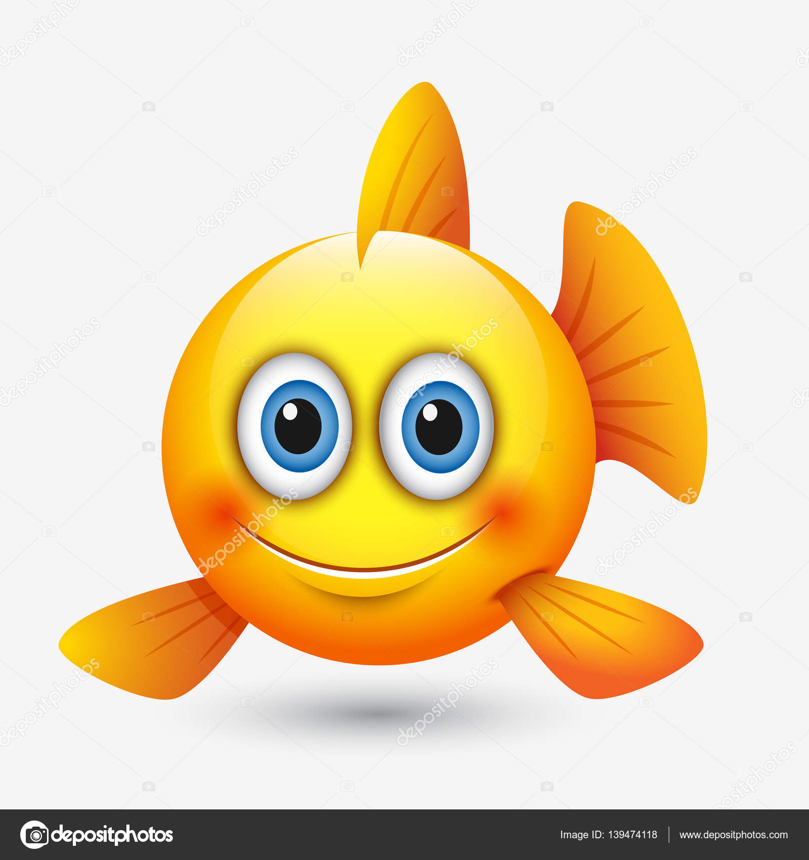 smiley fisch
