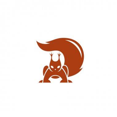 squirrel simple logo