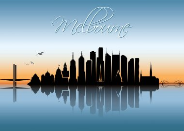 Melbourne skyline - Australia