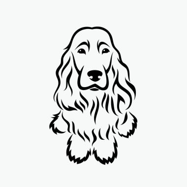 Cocker spaniel icon