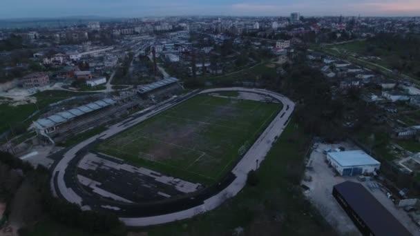 megsemmisítette a stadion, a Szovjetunió, az általános terv