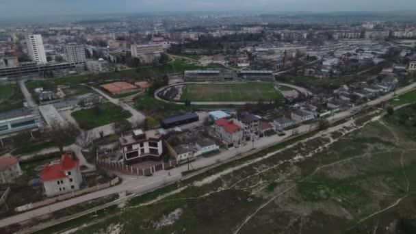zničil stadion, ze Sovětského svazu, všeobecný plán
