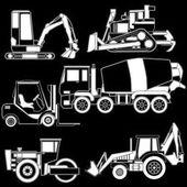 vektor výstavby dopravní