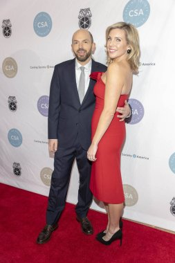 Paul Scheer, June Diane Raphael attend 34th Annual Casting Society of Americas  Artios Awards at The Beverly Hilton, Beverly Hills , CA on January 31st, 2019