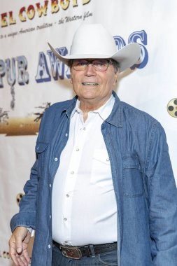 Patrick Wayne attends 21st Annual Silver Spur Awards  by Reel Cowboys at Sportsmen's Lodge, Studio City, California on September 21th, 2018